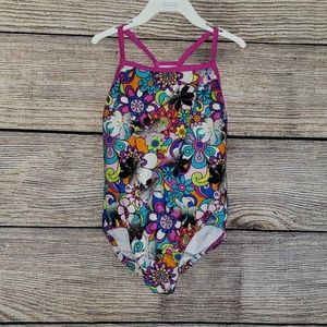 Girls Size 6 Speedo One Piece Swimsuit